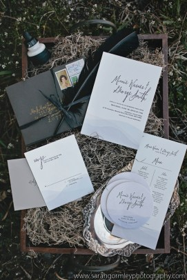 Invitations by The Peacock Press