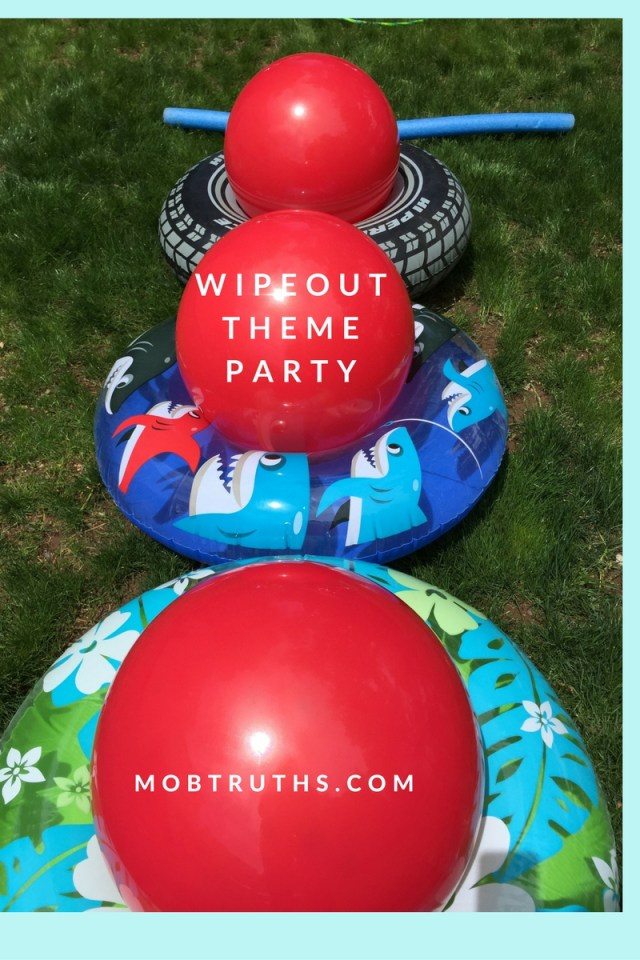 Obstacle course / Wipeout theme party
