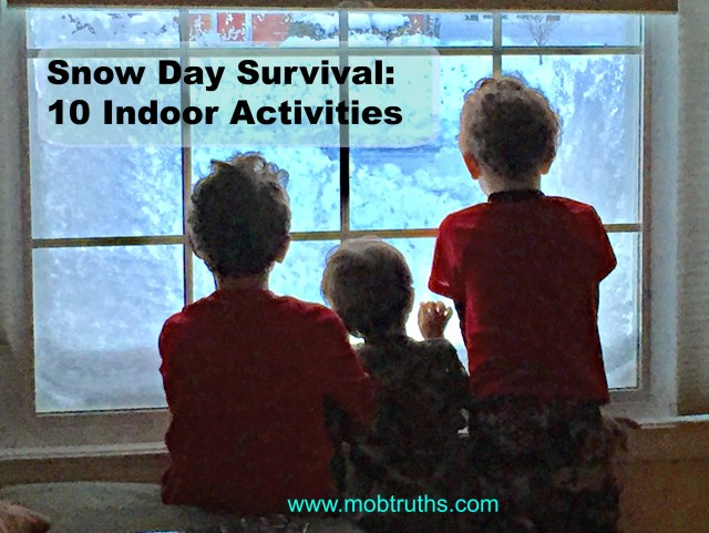 Some snow days are indoors