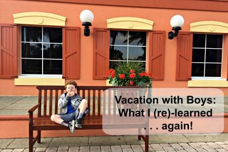 boys vacation
