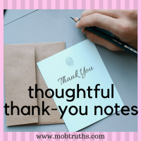 Thoughtful Thank-you Notes