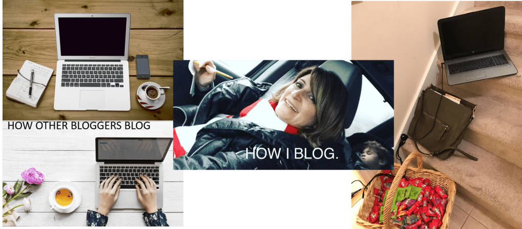 Blogging is like parenting -- not always glamorous!