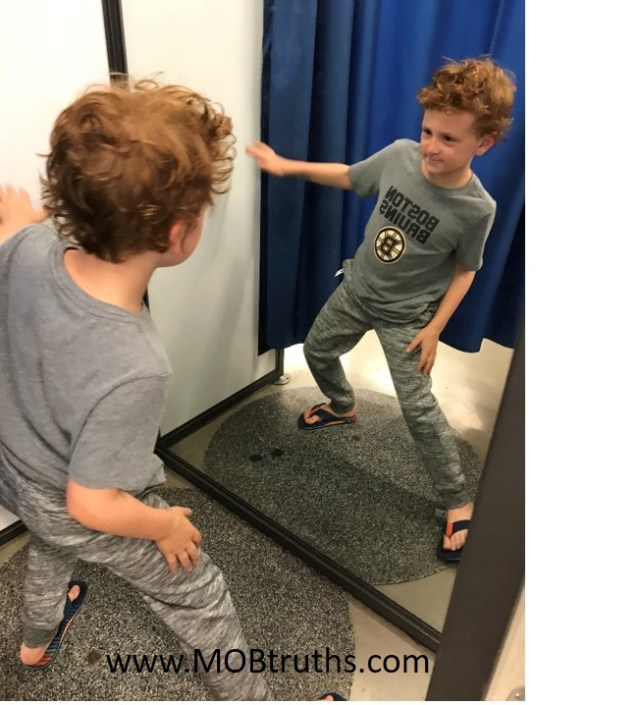 Back to school shopping is more fun with a dressing room dance