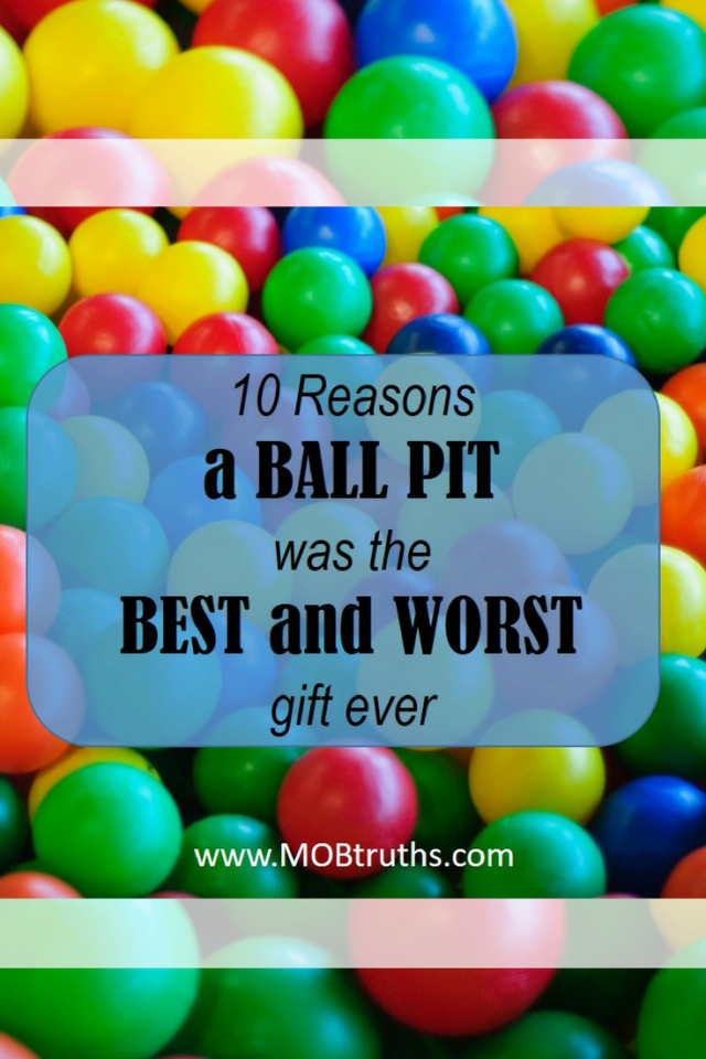 Ball pit makes a perfect gift