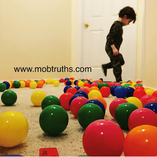 Ball pit is the perfect gift for kids of all ages.