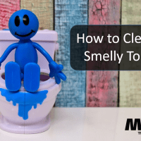 How to Clean a Smelly Toilet When You Have Boys