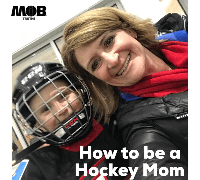 There's a lot to learn about being a hockey mom!