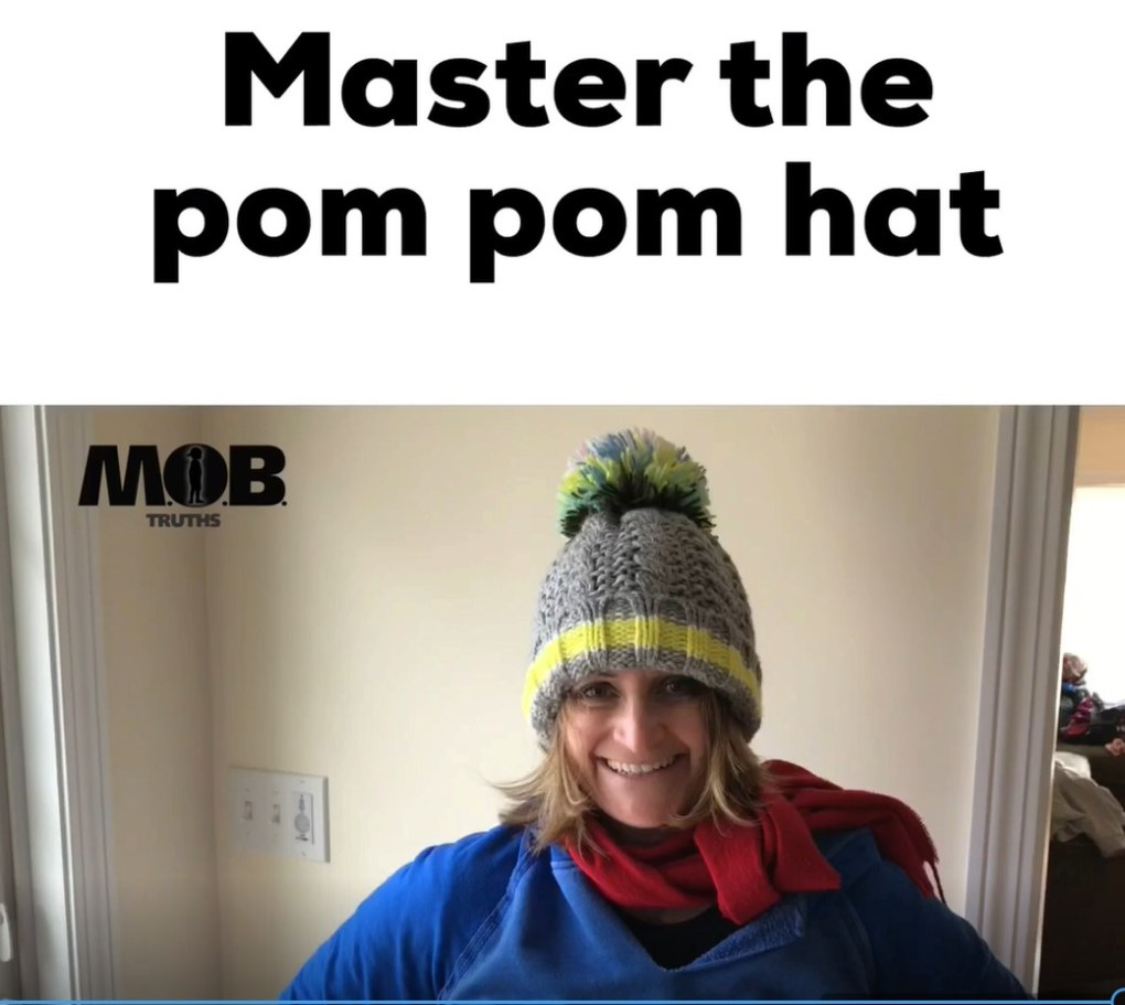 How do other hockey moms look so great in their hats?