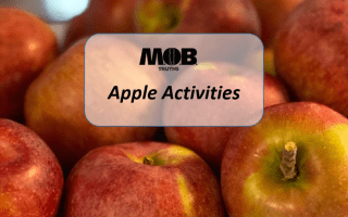 what to do with all those apples you just picked! Apple activities!