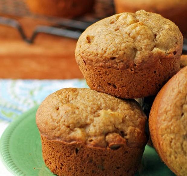 delicious apple muffin from allrecipes.com