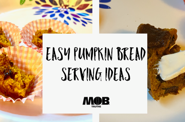 Fun ways to serve or share this easy pumpkin bread
