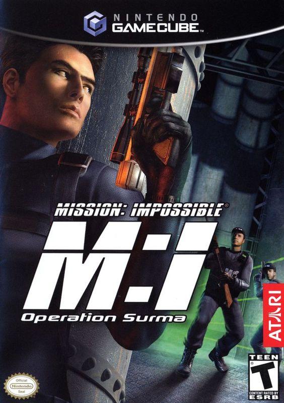 Votre Mission Si Vous L'acceptez Ce Message S'autodétruira : votre, mission, l'acceptez, message, s'autodétruira, Mission:, Impossible, Operation, Surma, GameCube, (2004), Blurbs, MobyGames