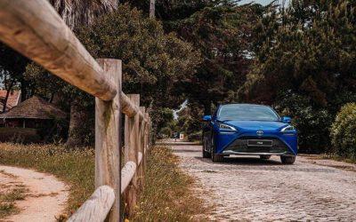 Toyota Mirai já circula em Portugal