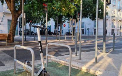 Bird implementa parqueamento obrigatório de trotinetes em Lisboa