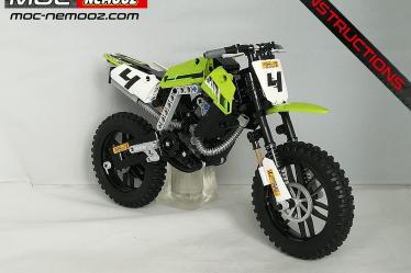lego technic kawasaki kx 450