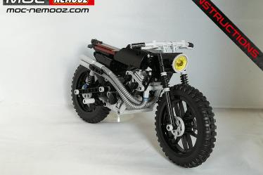 lego technic triumph scrambler