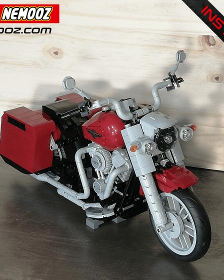 lego creator Harley davidson Road King Classic