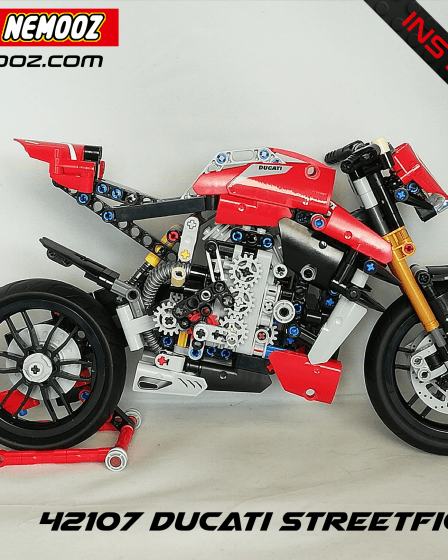 lego technic 42107 ducati stretfighter