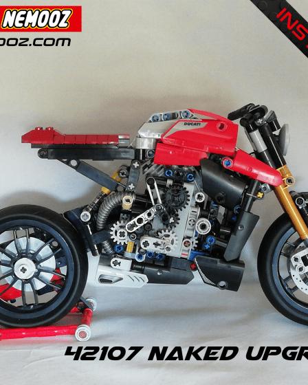lego technic 42107 ducati naked
