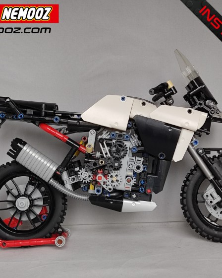 lego technic 42107 multistrada enduro