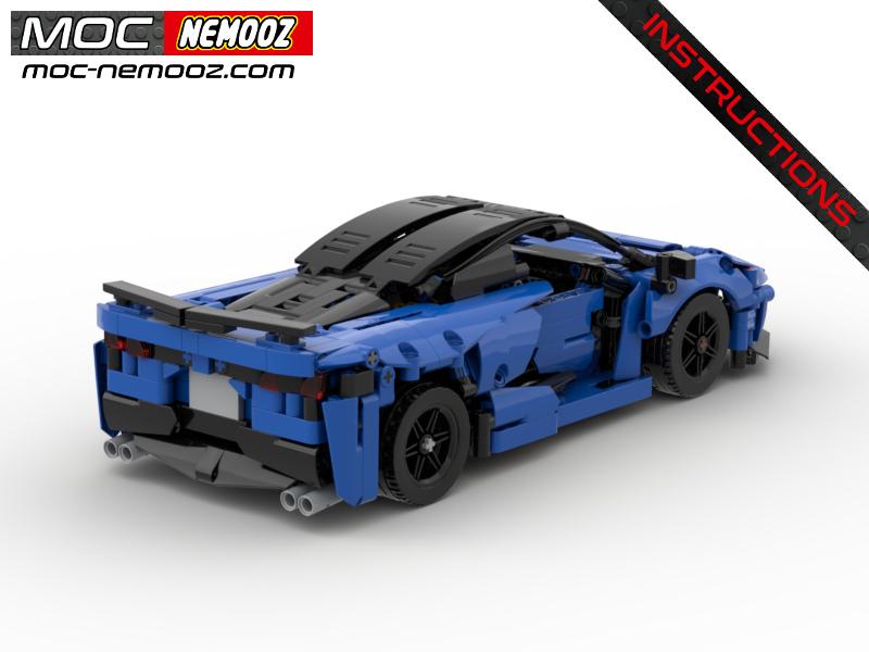 lego corvette C8