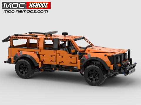 Lego 42126 upgrade