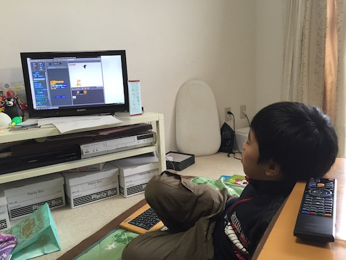 RaspberryPiのScratchでゲーム作り。音を出すには設定が必要だった。