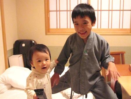 京都嵐山の宿 花伝抄に子連れで行って来ました。