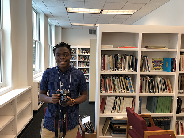 2018 Intern Donvan Washington