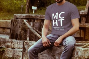 Molly's Cafe Humor Tees Men's Image