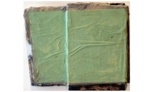 Sheet Rock Green, 1991Acrylic and collage paper on sheetrock, 26 x 19 x 6 1/2 inches (66.04 x 48.26 x 16.51 cm)Gift of James S. and Marisol G. Higgins