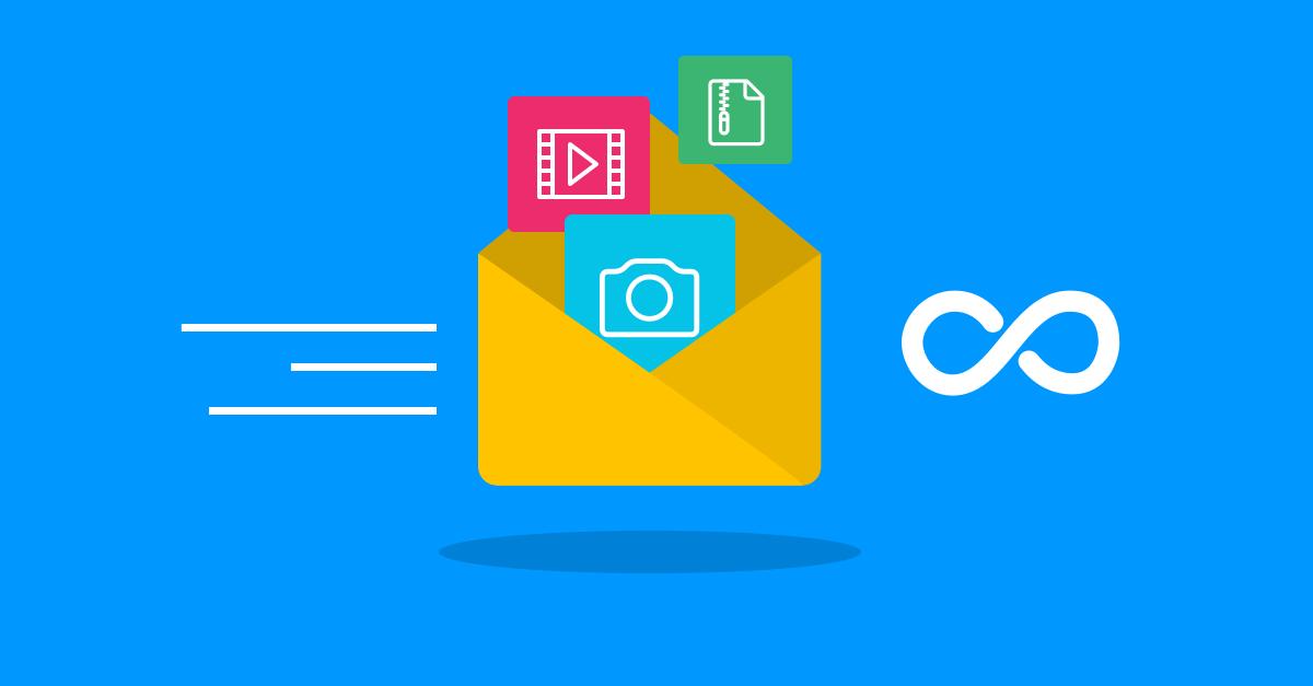 Archivos grandes, cómo enviarlos por Internet? 📧
