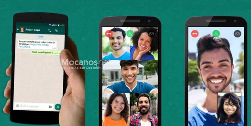 WhatsApp y videollamadas de más de cuatro personas
