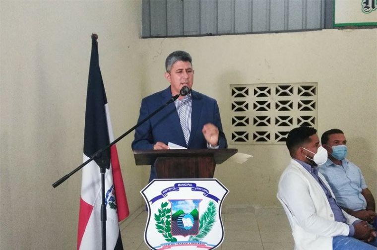 Director Junta Distrital de Juan López rinde informe de los primeros 100 días de gestión