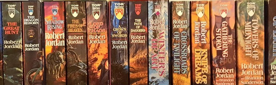 All 14 Wheel of Time books