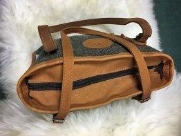 Scottish Deerskin/Harris Tweed handbag