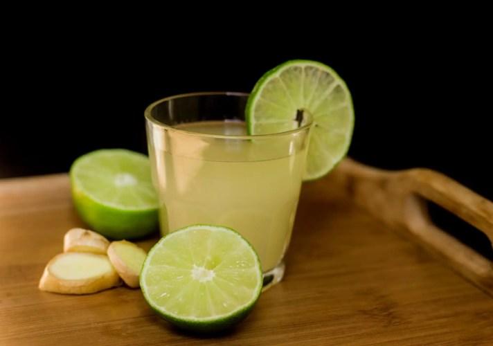 ginger lime drink