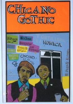 """""""Chicano Gothic,"""" Amado Peña, Jr. (Austin, TX, NM), 1974"""