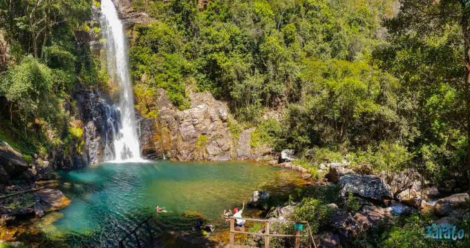 Cachoeira Serra Azul