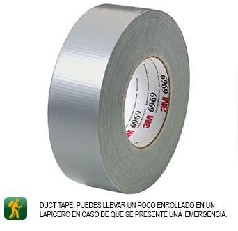cinta para emergencia con tu carpa