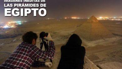 Imágenes inéditas de las pirámides de Egipto