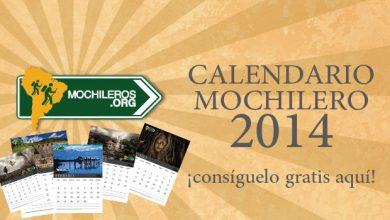 Photo of ¡Descarga gratis para viajeros! Calendario Mochilero 2014