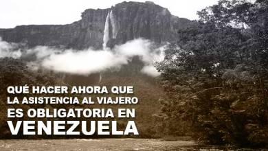 Photo of Seguro de viaje obligatorio para viajar a Venezuela: Solución