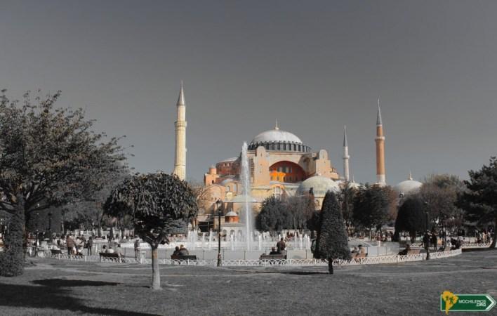 Hagia Sophia, Santa Sofia - Guia de Estambul Mochileros.org