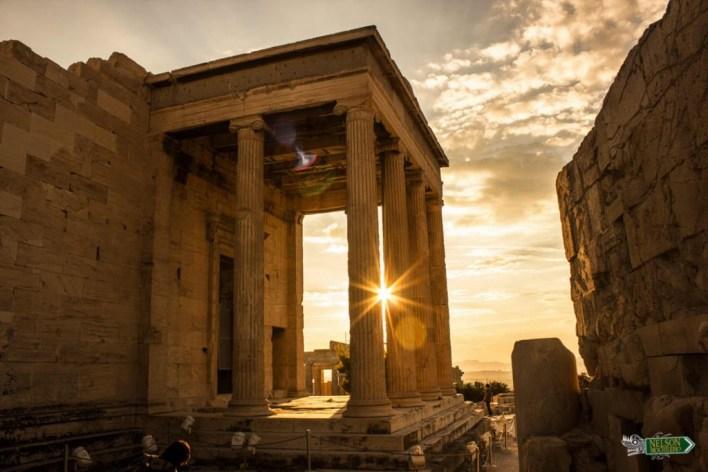 Antiguo Templo de Atenea