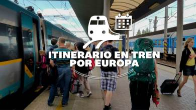 Photo of Itinerario para viajar en tren por Europa
