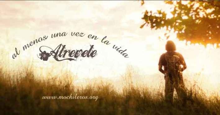 frases motivadoras para viajeros soñadores - Atrevete  @nelsonmochilero - mochileros.org