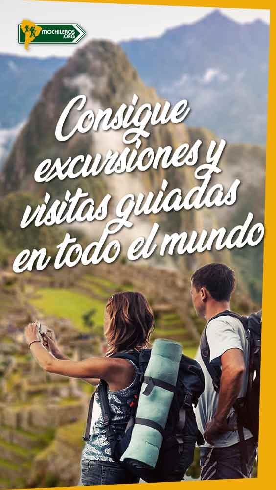 Consigue excursiones, actividades, paseos, entradas y visitas guiadas en todo el mundo - Mochileros.org
