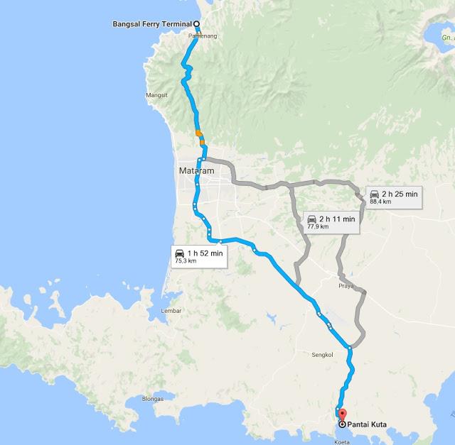 bangsal a kuta lombok