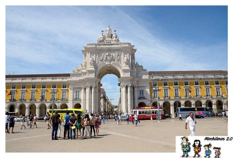 arco plaza comercio lisboa